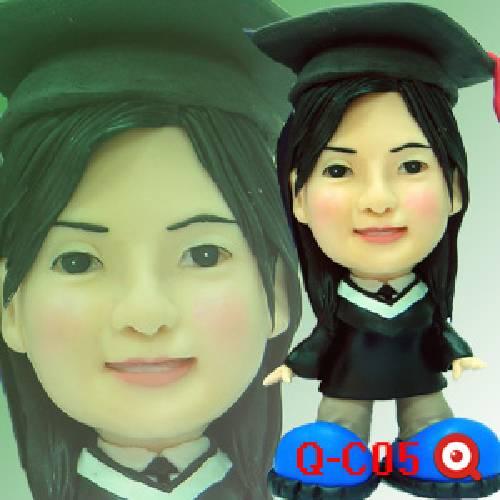 學生.畢業公仔娃娃